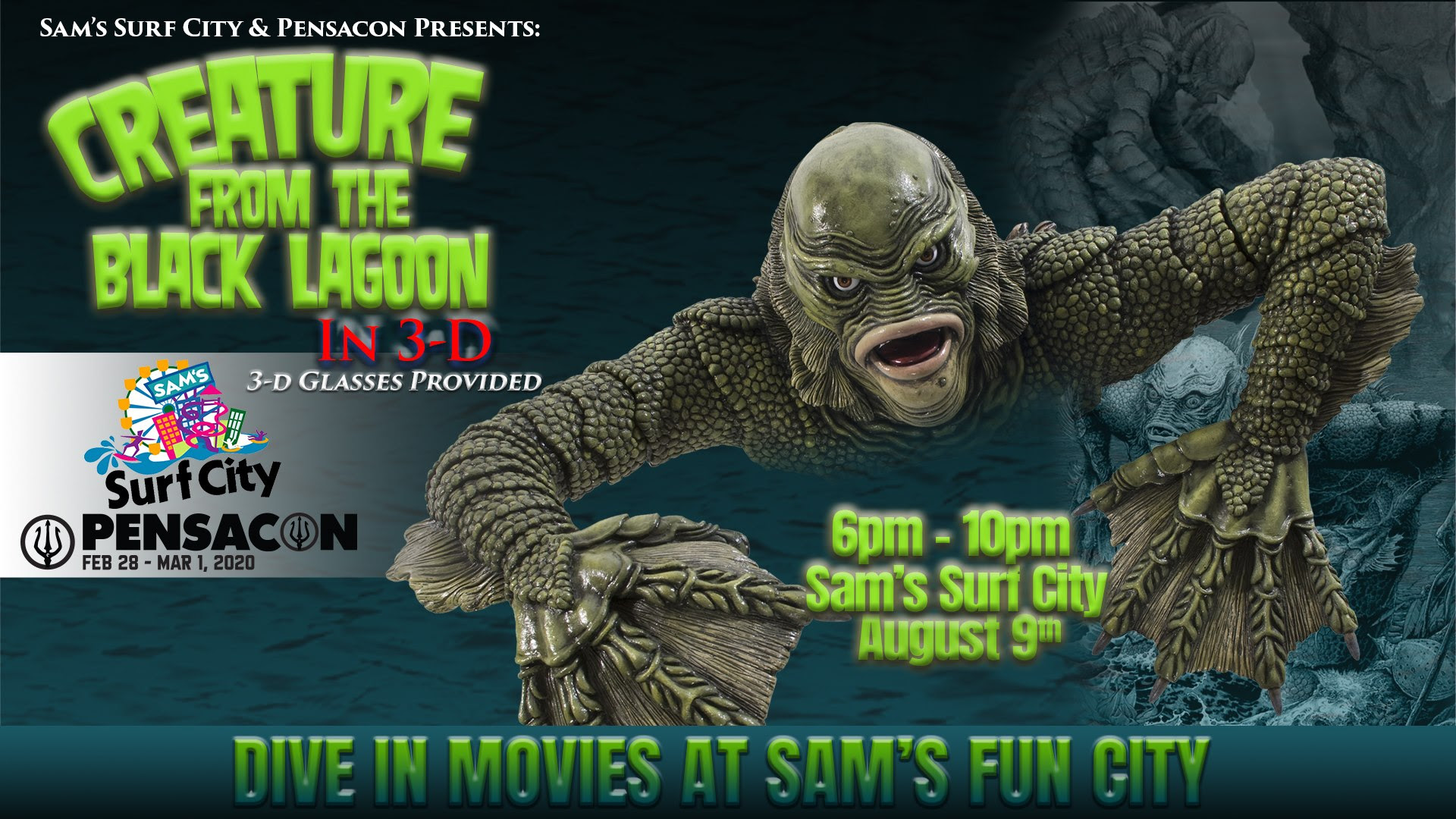 Dive In Movie Creature From The Black Lagoon