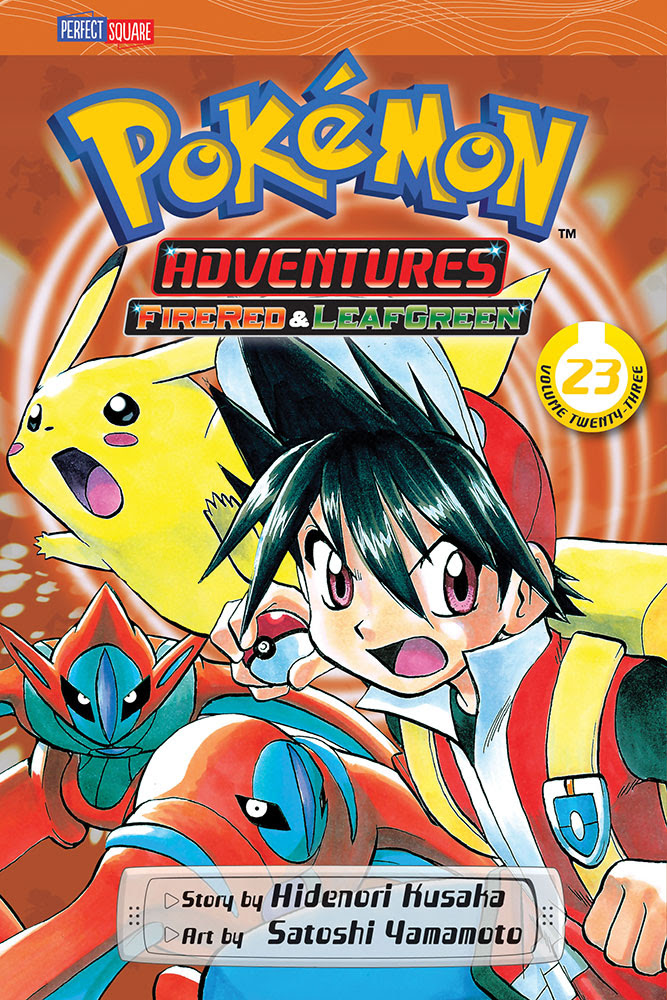 Pokemon Adventures Manga Volume 23