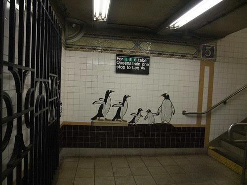 subway penguins