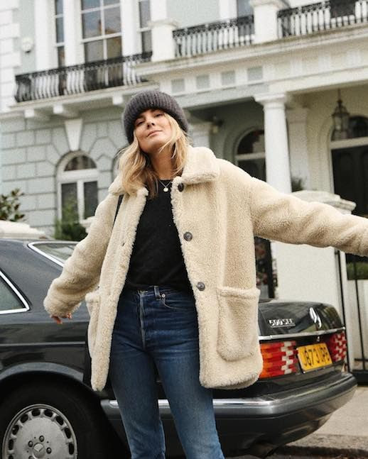Le Fashion Blog 9 Teddy Bear Coats To Shop This Winter Via @Lucywilliams02
