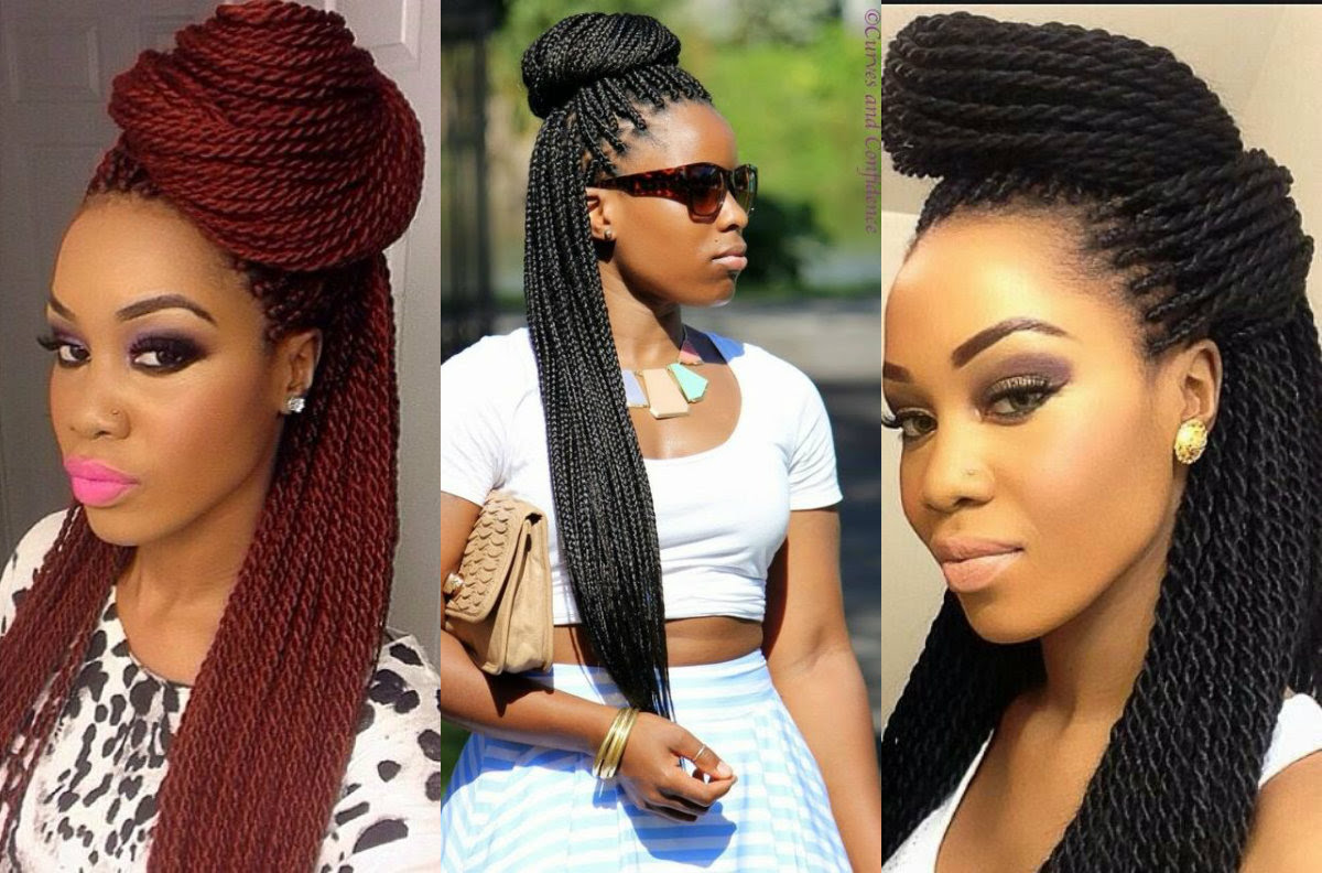 Box  Braids  Bun Hairstyles  You Will Swear With Hairstyles