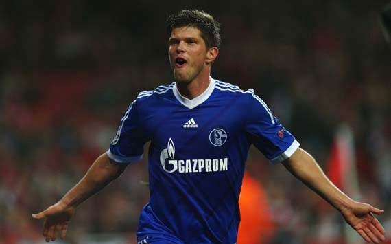 Klaas Jan Huntelaar of Schalke 04