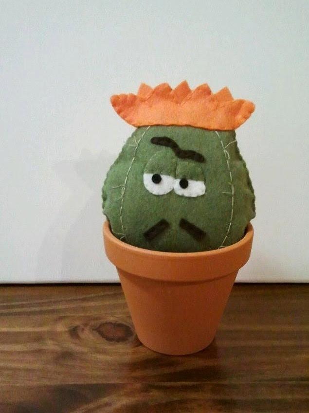 José the Cactus Felt Plush