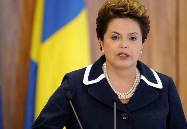 Dilma esteve na abertura da Copa