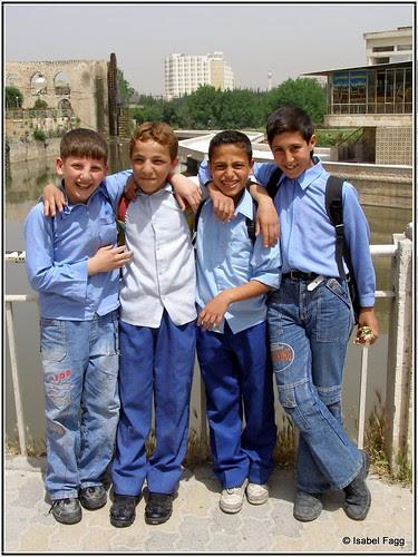 Friends in Hama