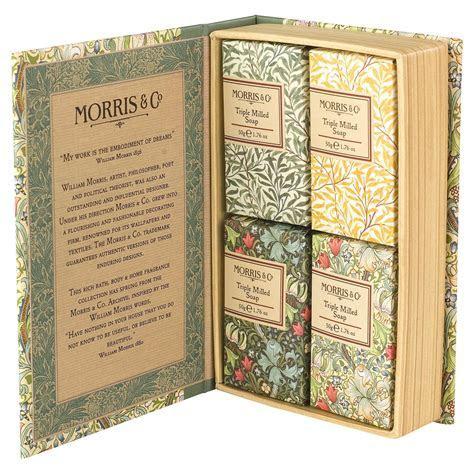 Heathcote & Ivory Morris & Co Golden Lily Guest Soap Set