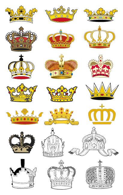 王冠金色のイラストaieps ベクタークラブイラストレーター素材が無料
