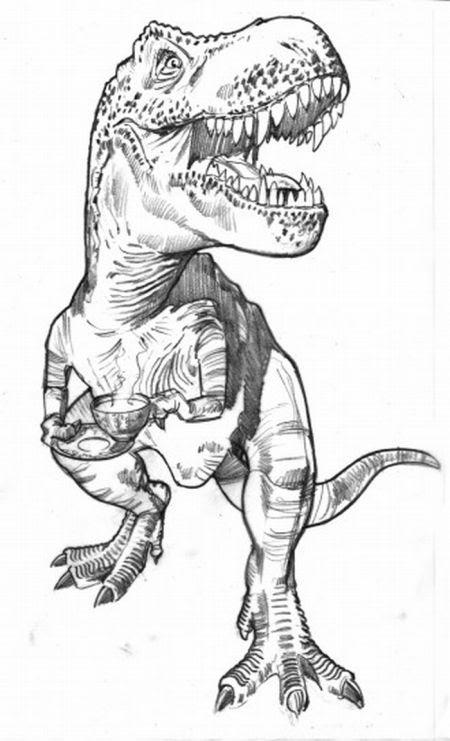 Coloriages à Imprimer T Rex Numéro 259983