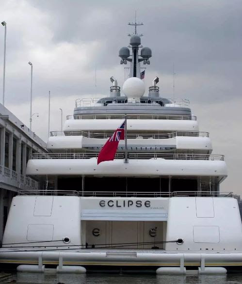 Photos Of The Luxurious Private Yacht Owned By Chelsea Owner, Abramovich