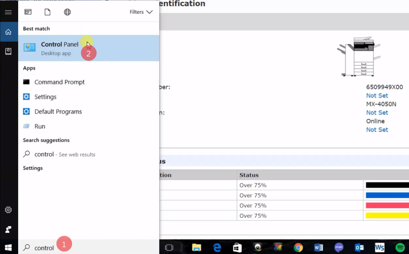 How To Setup Scanning To Folders Windows 10 Sharp Copier Scanner