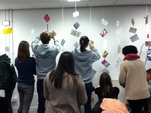 Student Mailart show Roehampton University January 2011