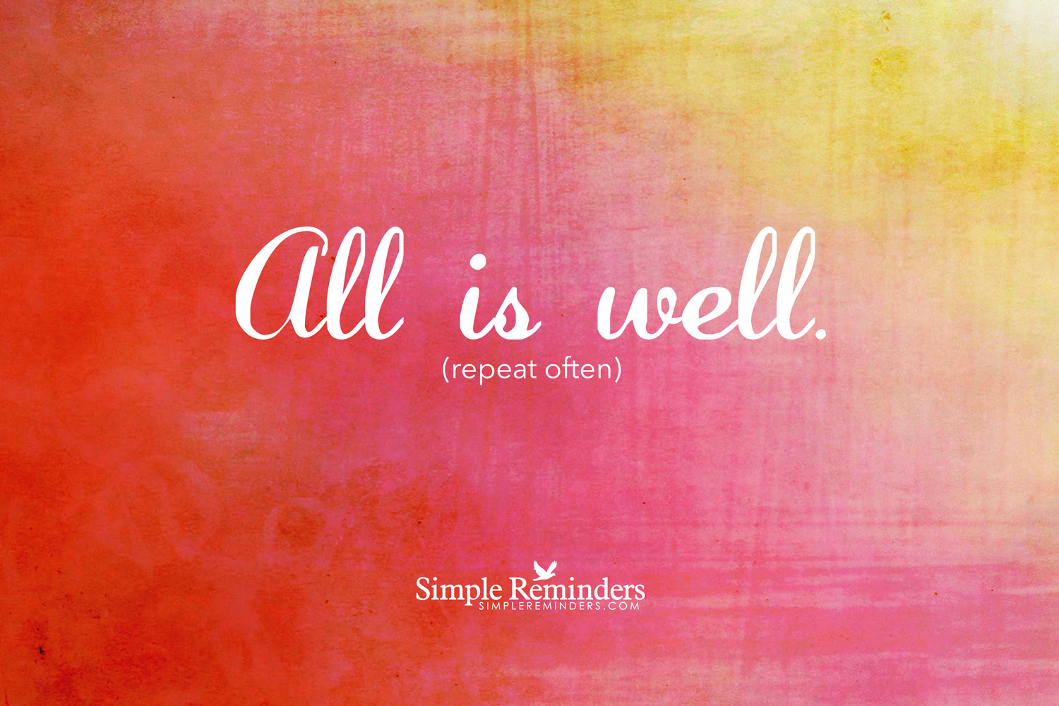 Quotes About All Is Well 814 Quotes