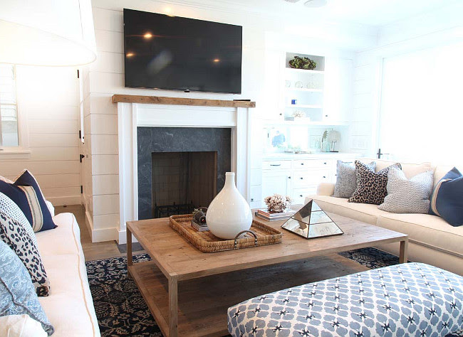 Cape Cod Inspired Beach Cottage Home Bunch Interior Design Ideas