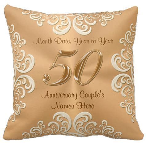 Wedding Anniversary Gifts: Traditional 50th Wedding
