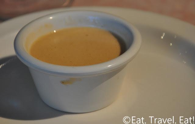Sesame Grill: Lobster Cream Sauce