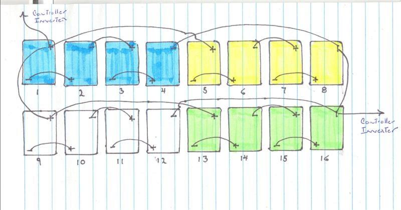 16 Volt Battery Wiring Diagram