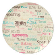 Super Sweet Words - Plate