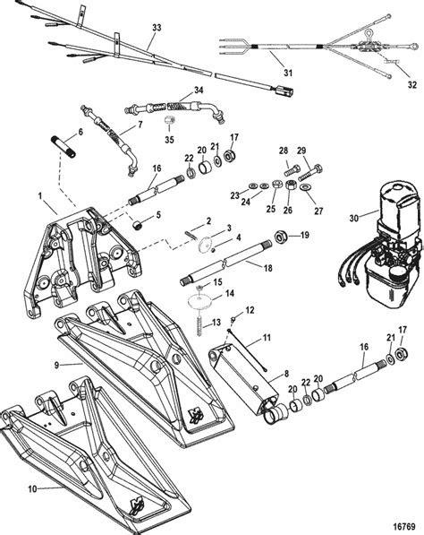 Mercury Marine Trim / Tilt / Lift Systems & Components K