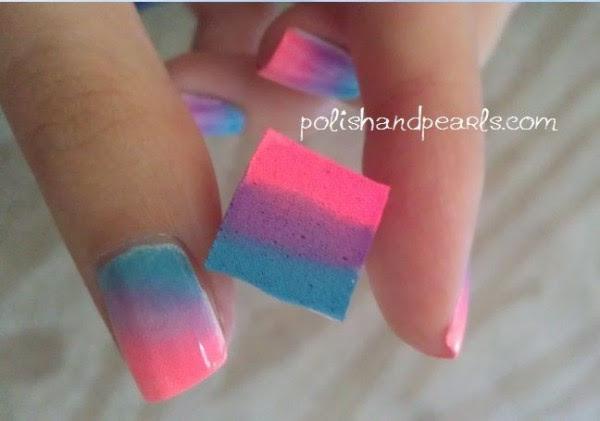 Resultado de imagen para diseños de uñas con esponja pinterest