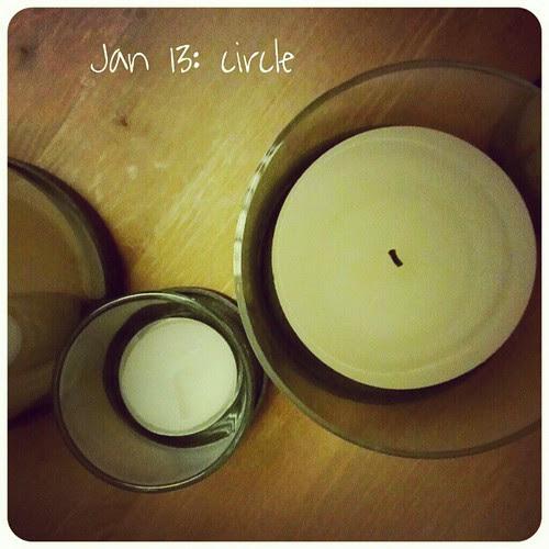 Jan 13: circle .. #round'n'round #fmsphotoaday