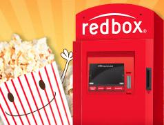 Redbox and popcorn
