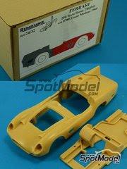 Maqueta de coche 1/24 Renaissance Models - Ferrari 250 TRI 60/61 0780 - Test de pretemporada 1960 - 1961 - kit multimaterial image