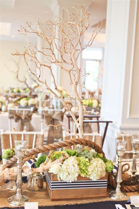 fun nautical #wedding table centerpiece   Nautical & Beach