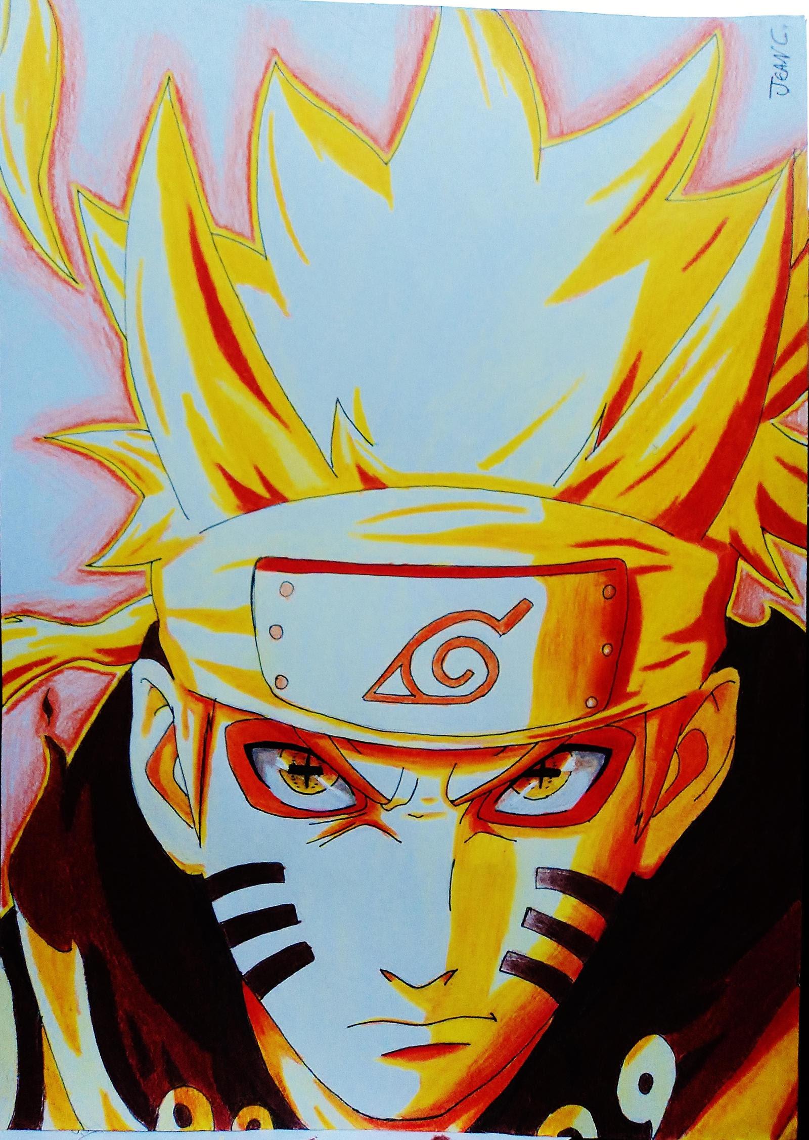 Naruto Sennin Bijuu Mode By Jeancarlo183 On Deviantart
