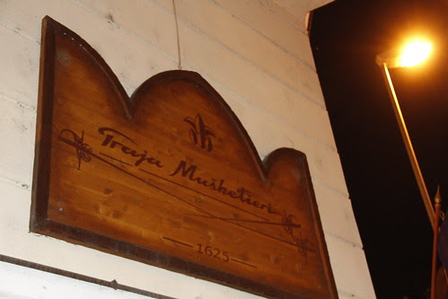 """three musketeers"" restaurant"