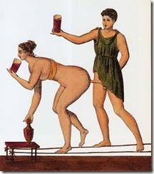 Pompeii, Tavern,Erotic Scene