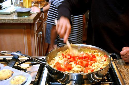 tortillas + eggs