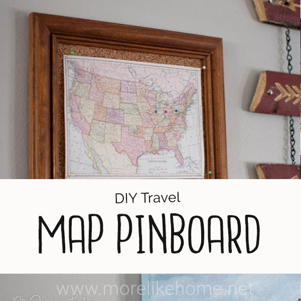map pinboard