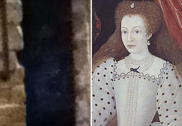 Fantasma Dama Blanca Fotografiado el fantasma de la Dama Blanca en la Abadía de Rufford