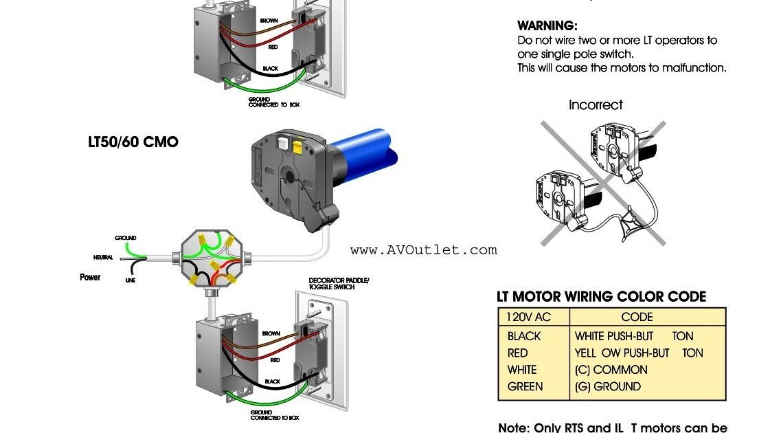 120v Motor Wiring Diagram