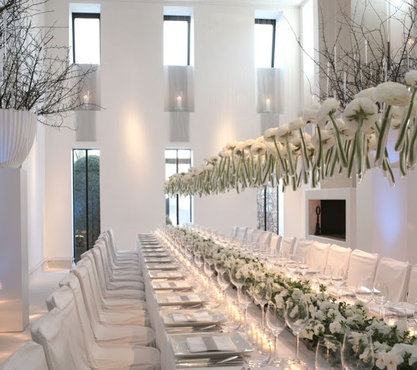 More {suspended} wedding decor inspiration