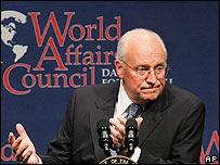 Dick Cheney, vicepresidente de Estados Unidos.