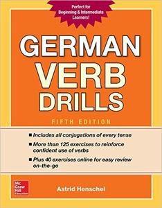 German-Verb-Drills-Fifth-Edition-234x300 German Verb Drills, Fifth Edition (2017)