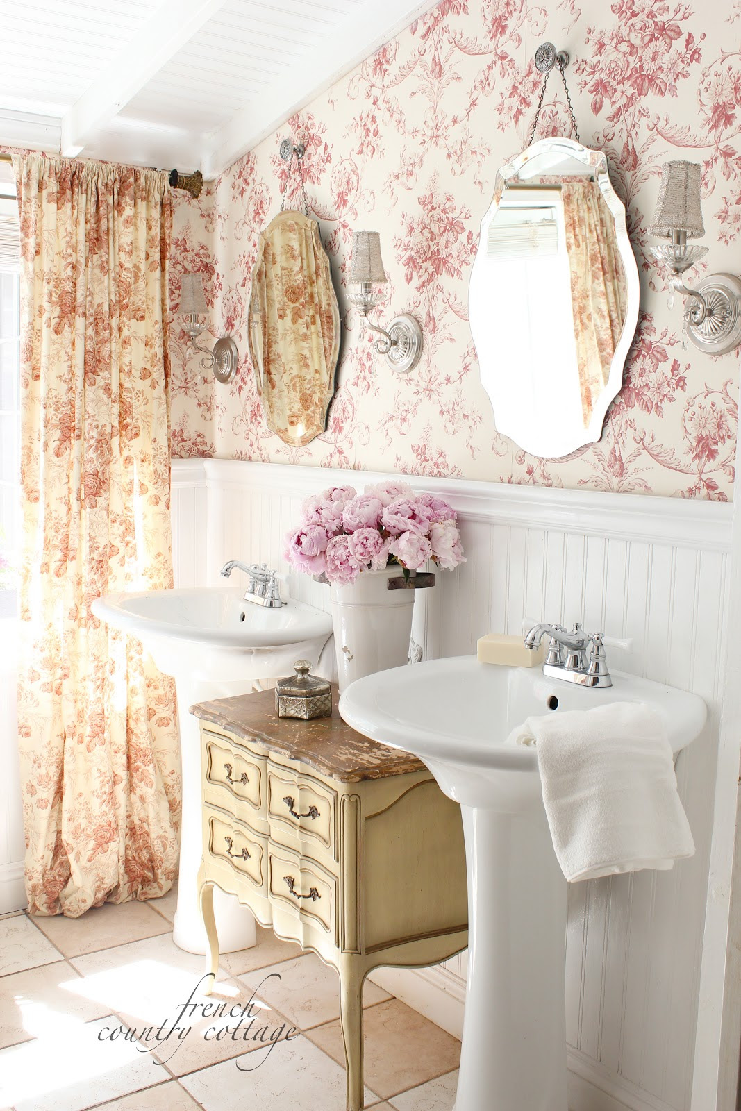 French Country Bathroom Decorating Ideas   modern architecture
