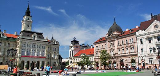 Freiheitsplatz von Novi Sad