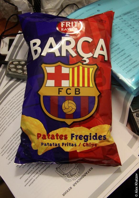 чипсы Барселона