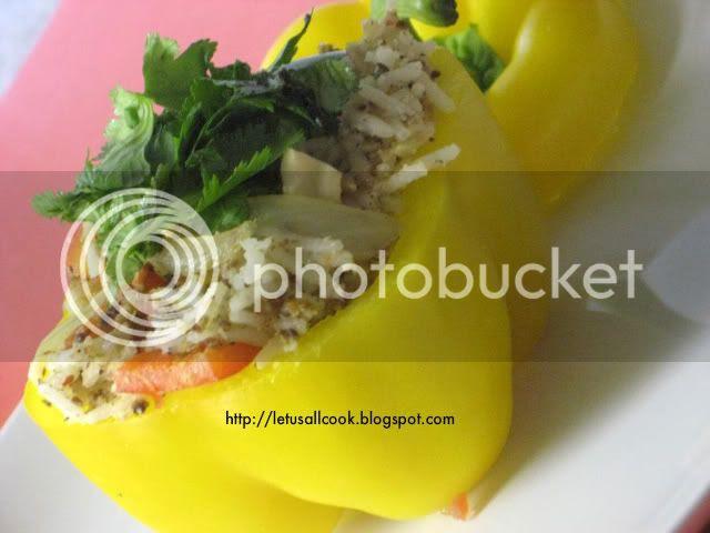 Capsicum Rice for Thanksgiving