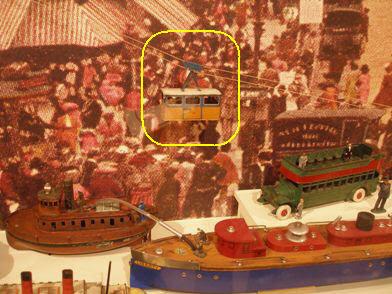 Transit Museum - Tram Car in Toy Exhibit