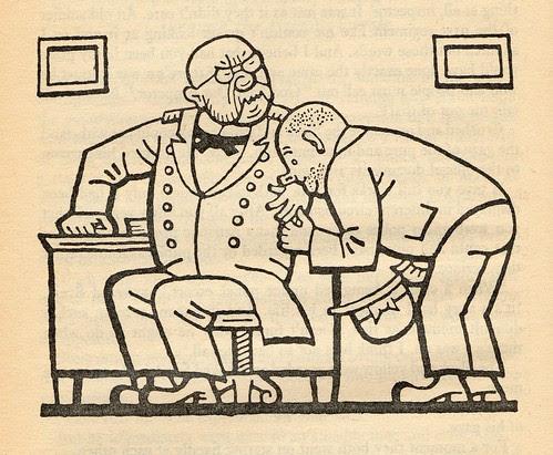 Josef Lada illustration from The Good Soldier Švejk by Hašek
