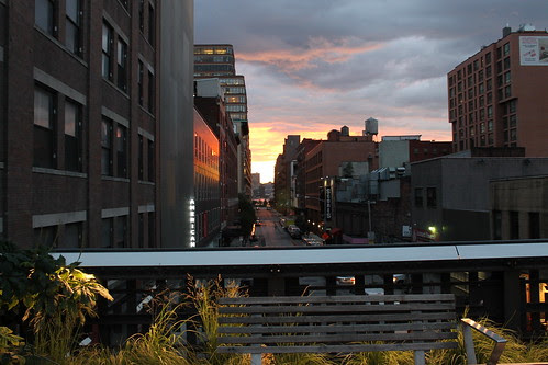 From An Early Evening Walk on the High Line
