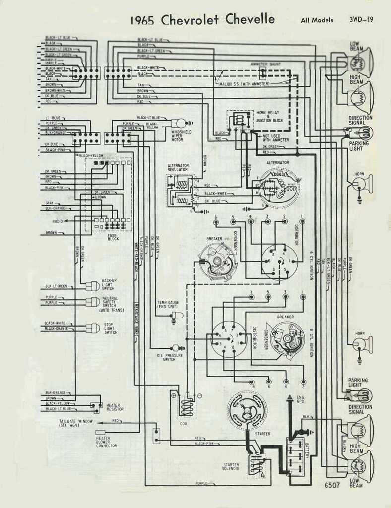 72 Chevelle Starter Wire Diagram