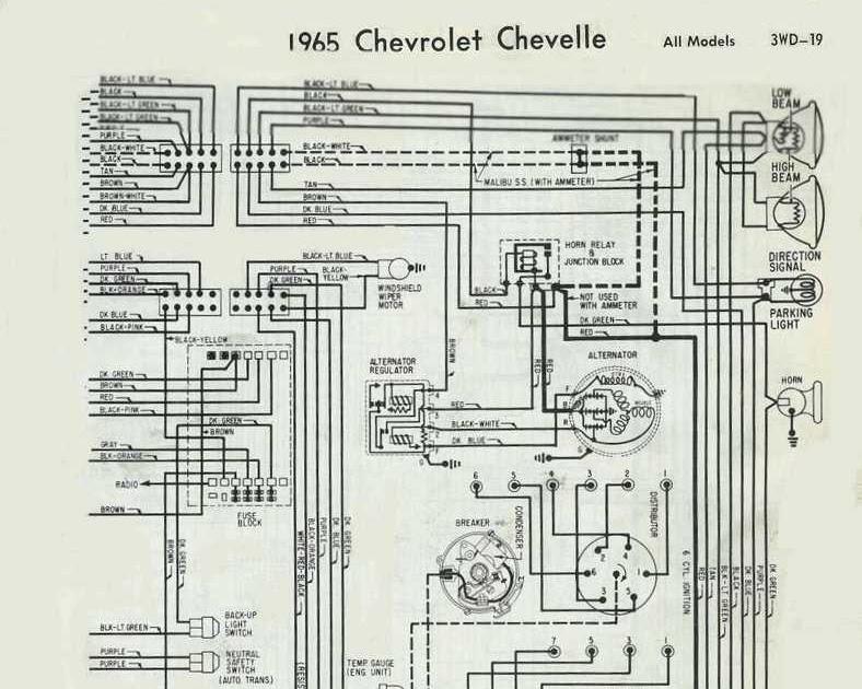 72 Chevelle Alternator Wiring Diagram