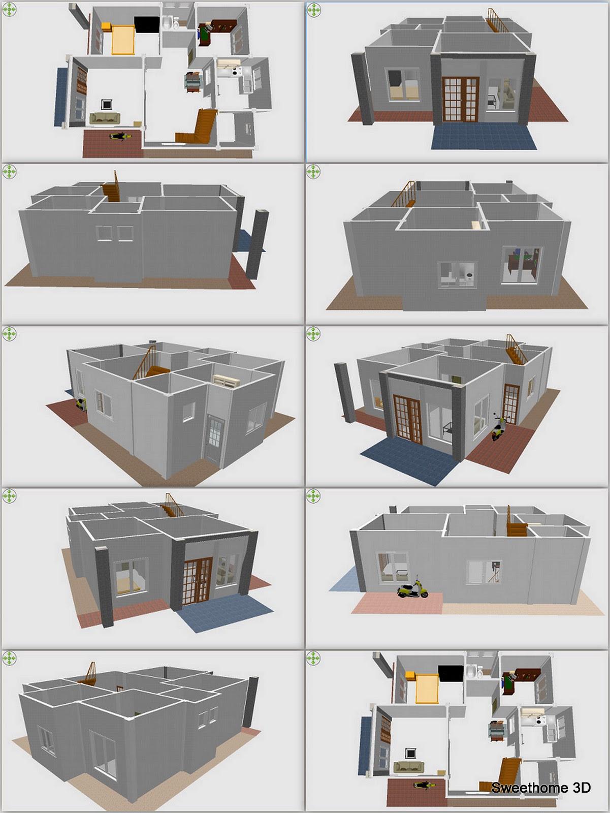 Desain Grafis Rumah Minimalis
