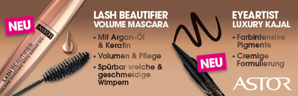 Astor EyeArtist Luxury Kajal + Lash Beautifier Volume Mascara