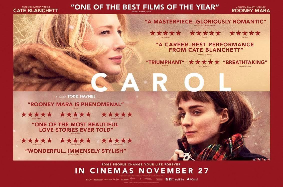 Image result for carol movie poster