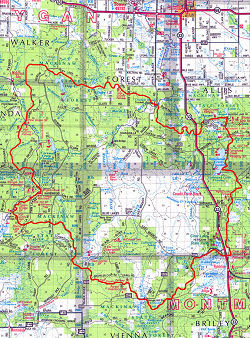 High Country Pathway thumbnail map